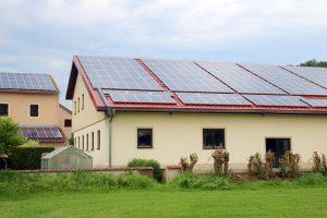 Sonnenstrom für Maschinenbetrieb